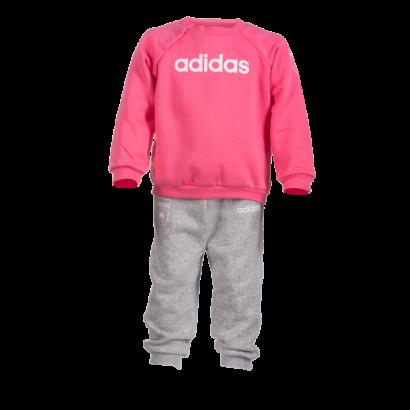 """adidas melegítőszett, rózsaszín, baby """"MOL Fehérvár FC"""" címerrel"""
