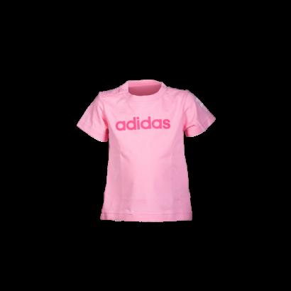 """adidas kereknyakú póló, rózsaszín, baby """"MOL Fehérvár FC"""" címerrel"""