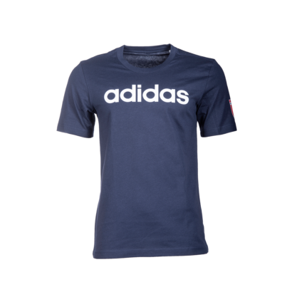"""adidas kereknyakú póló, sötétkék, felnőtt """"MOL Fehérvár FC"""" címerrel"""