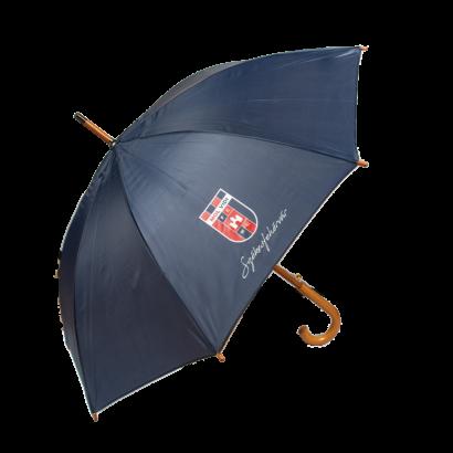 """esernyő, kék """"hajrá, vidi!"""""""