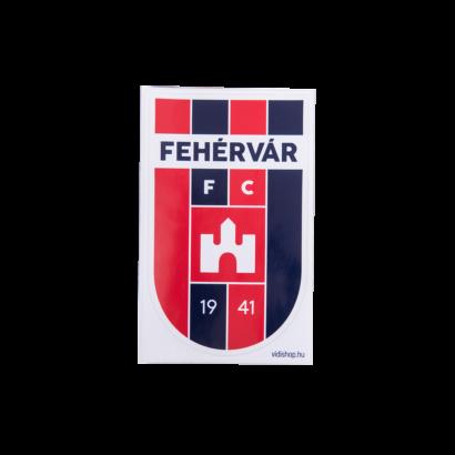 """Matrica nagy """"MOL Fehérvár FC""""címerrel"""
