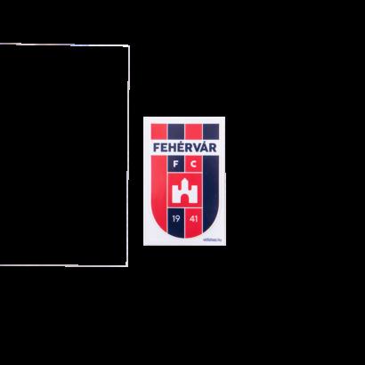 """Matrica kicsi""""MOL Fehérvár FC""""címerrel"""