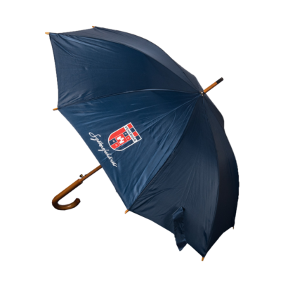 """Esernyő, kék """"MOL Fehérvár FC"""" címerrel"""
