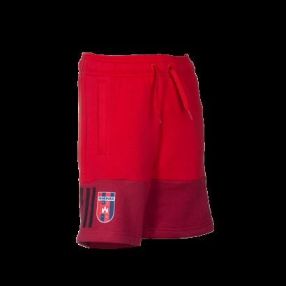 """adidas short, piros, gyermek """"MOL Fehérvár FC"""" címerrel"""