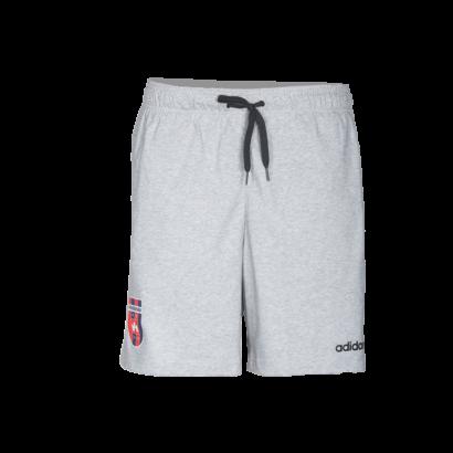 """adidas short, szürke, felnőtt """"MOL Fehérvár FC"""" címerrel"""