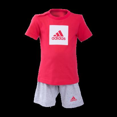 """adidas short és póló szett, rózsaszín, baby """"1941"""" felirattal"""