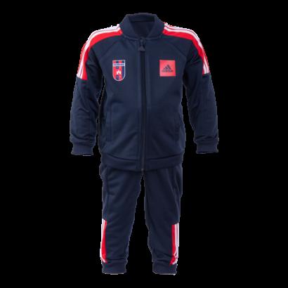 """adidas melegítőszett, sötétkék, baby """"MOL Fehérvár FC"""" címerrel"""