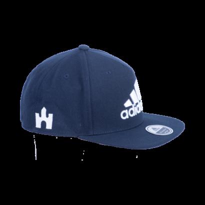 """adidas baseball sapka, sötétkék """"fehér vár"""" logóval"""