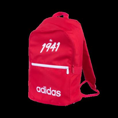 """adidas hátizsák, piros """"1941"""" felirattal"""