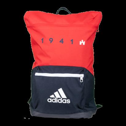 """adidas hátizsák, piros-kék """"1941"""" felirattal"""