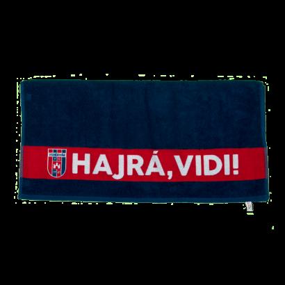 """Törölköző, kék  """"MOL Fehérvár FC"""" címerrel"""