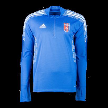 adidas edzőfelső 2021/2022, kék, felnőtt