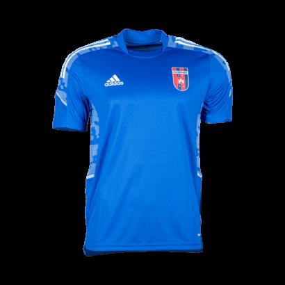 adidas edzőpóló 2021/2022, kék, felnőtt