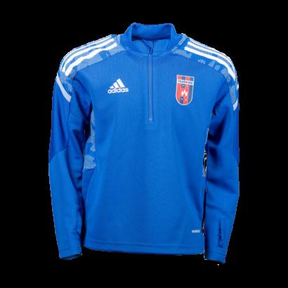 adidas edzőfelső 2021/2022, kék, gyermek