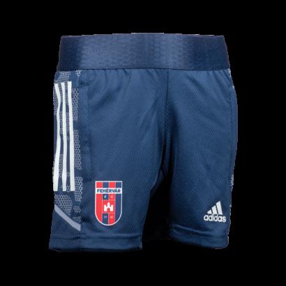 adidas edzőshort 2021/2022, kék, gyermek