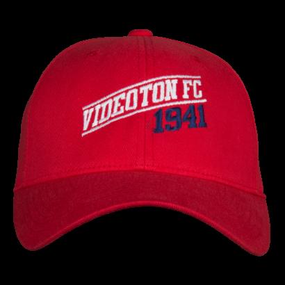 "Fullcap sapka, piros ""Videoton FC 1941"""