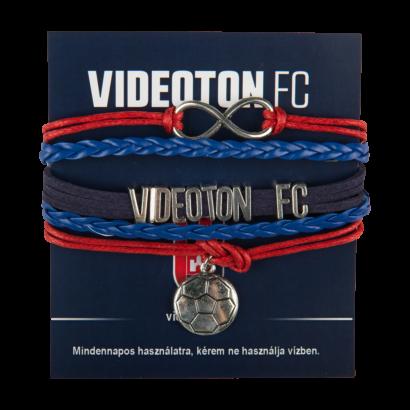 "Karkötő, fonott, bőr ""Videoton FC"""