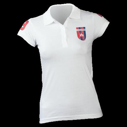 """Galléros póló, fehér, női """"Videoton FC Székesfehérvár"""""""