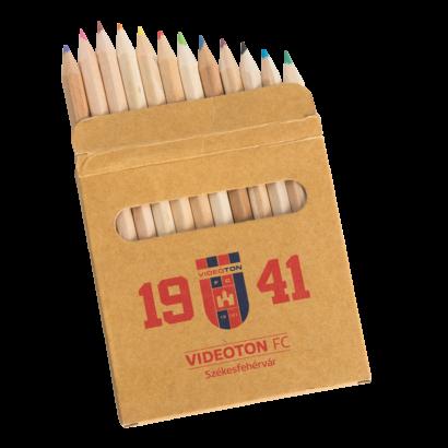 Színes ceruza készlet, mini 1941 Videoton FC