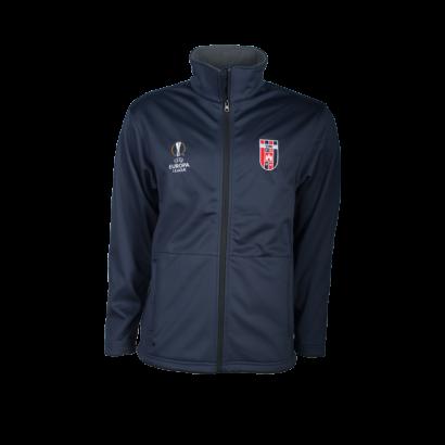 softshell kabát, kék, felnőtt, Europa League