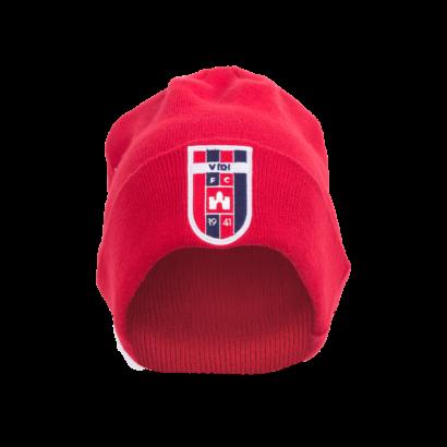 kötött sapka, piros, Europa League