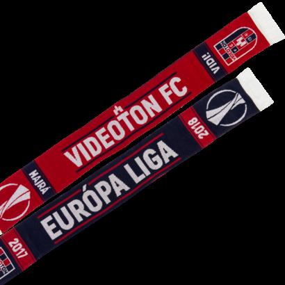 """Szurkolói sál, kötött, kétoldalas """"Európa Liga Videoton FC"""""""