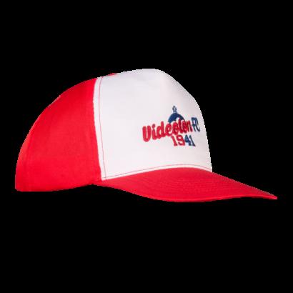 "Baseball sapka, piros-fehér ""Videoton FC 1941"""