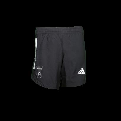 adidas edzőshort 2020/2021, fekete, gyermek